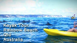 Rainbow Beach Kayak Tour 호주 바다…