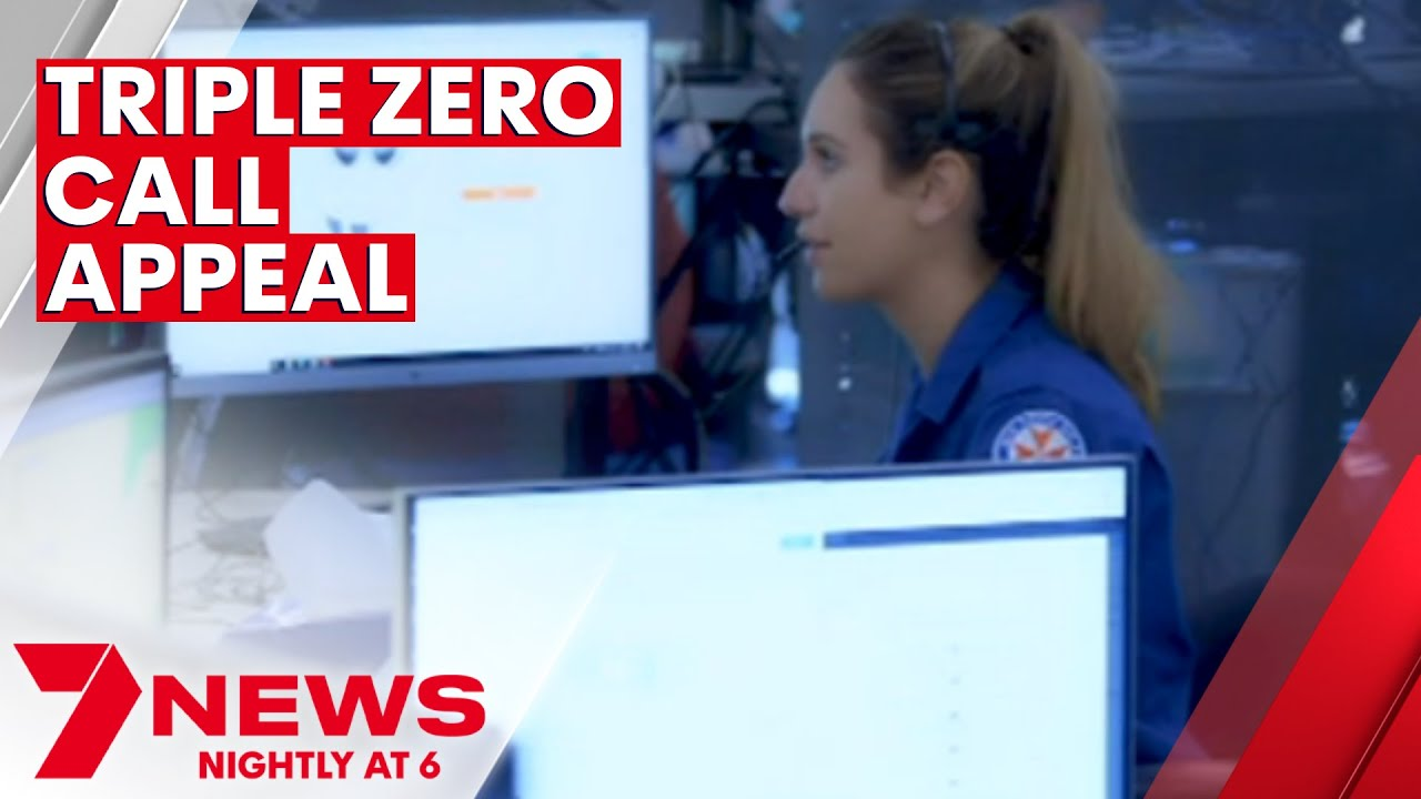 Emergency operators being bogged down with non-urgent Triple Zero calls   7NEWS