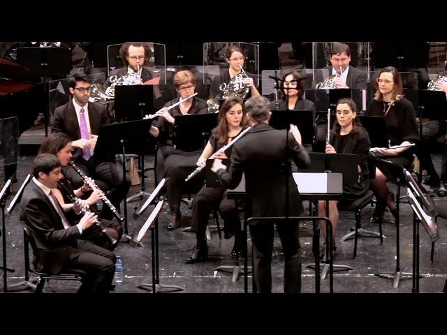 Olivier CALMEL - Katoomba ouverture - Orchestre d'Harmonie de Levallois -
