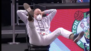 Steve Ballmer Was Wilding At The End of Nets-Clippers Game