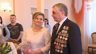 Семья Сошниковых отметила 25 совместной жизни