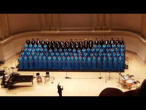 World choir festival  @ Carnegie Hall