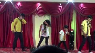 Athel, Kevin, Athili & Dia Performing One Direction