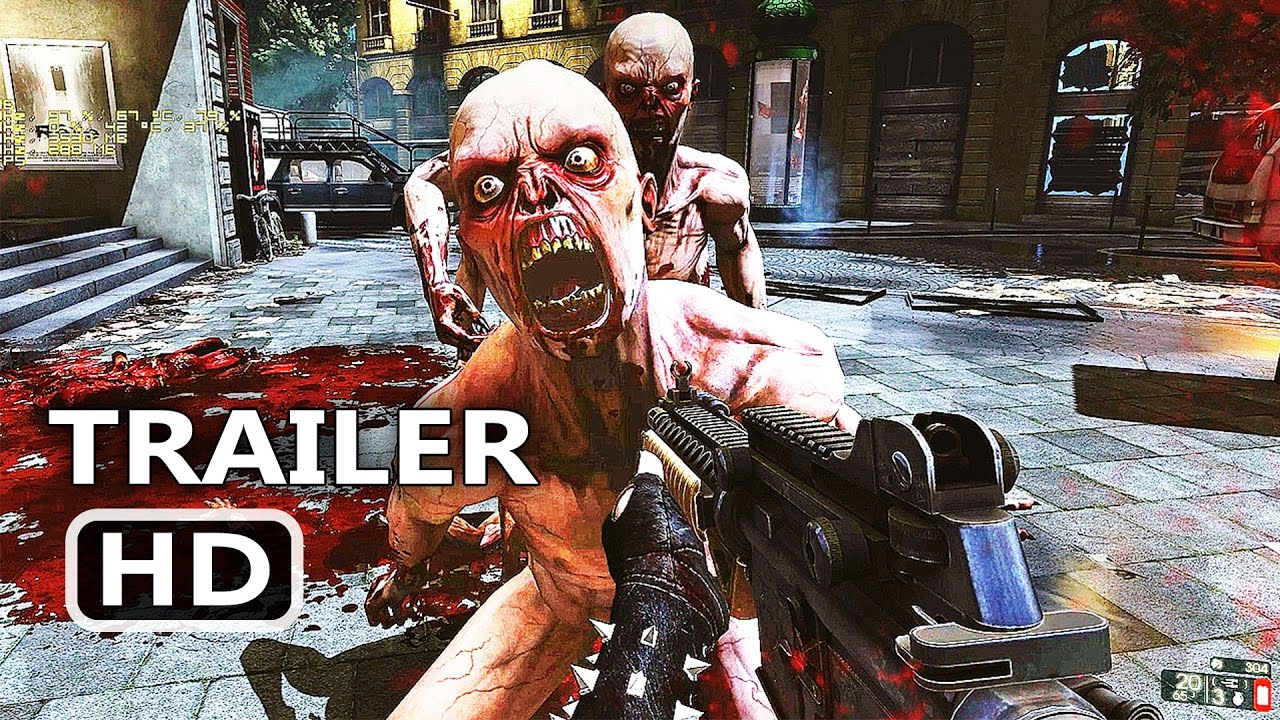 PS4 - Killing Floor 2 : Full Release Launch Trailer