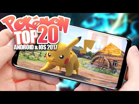 Top 20 New Pokemon Games 2017  Android IOS Gameplay