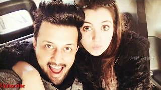 atif-aslam-with-his-wife-latest