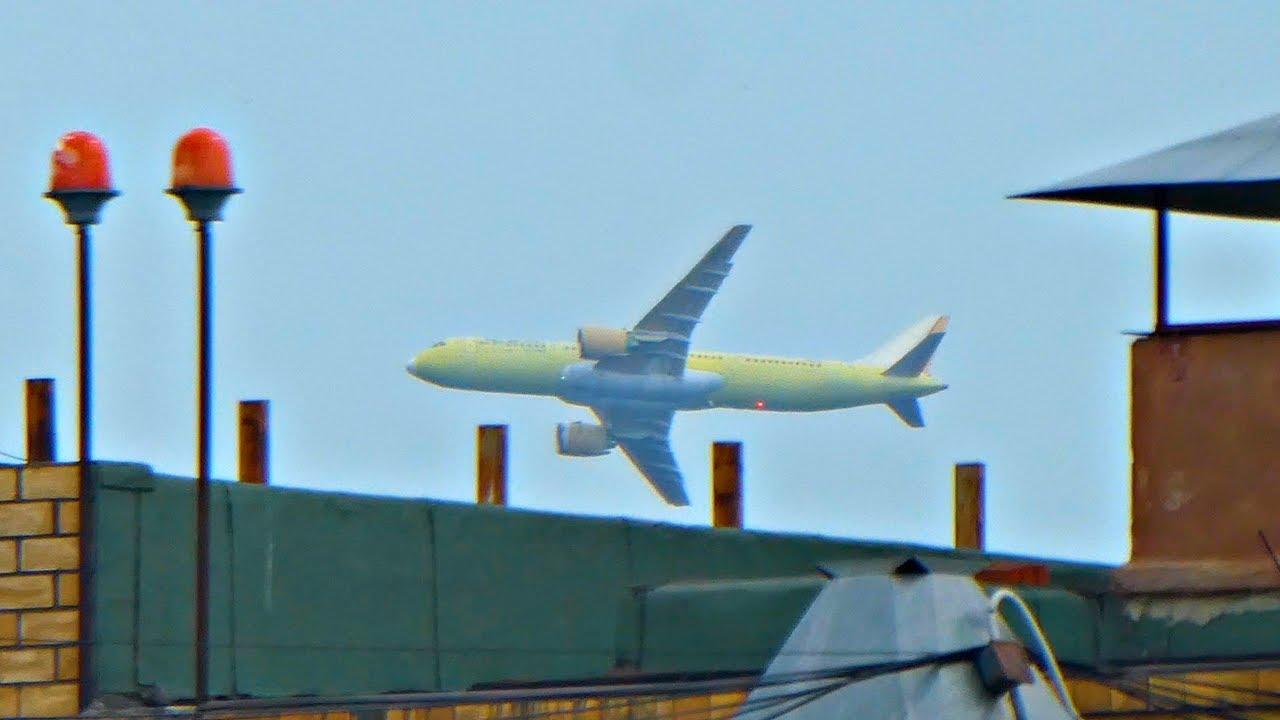 МС-21 Самый новый 4-й лётный самолет Иркут MC-21 - YouTube