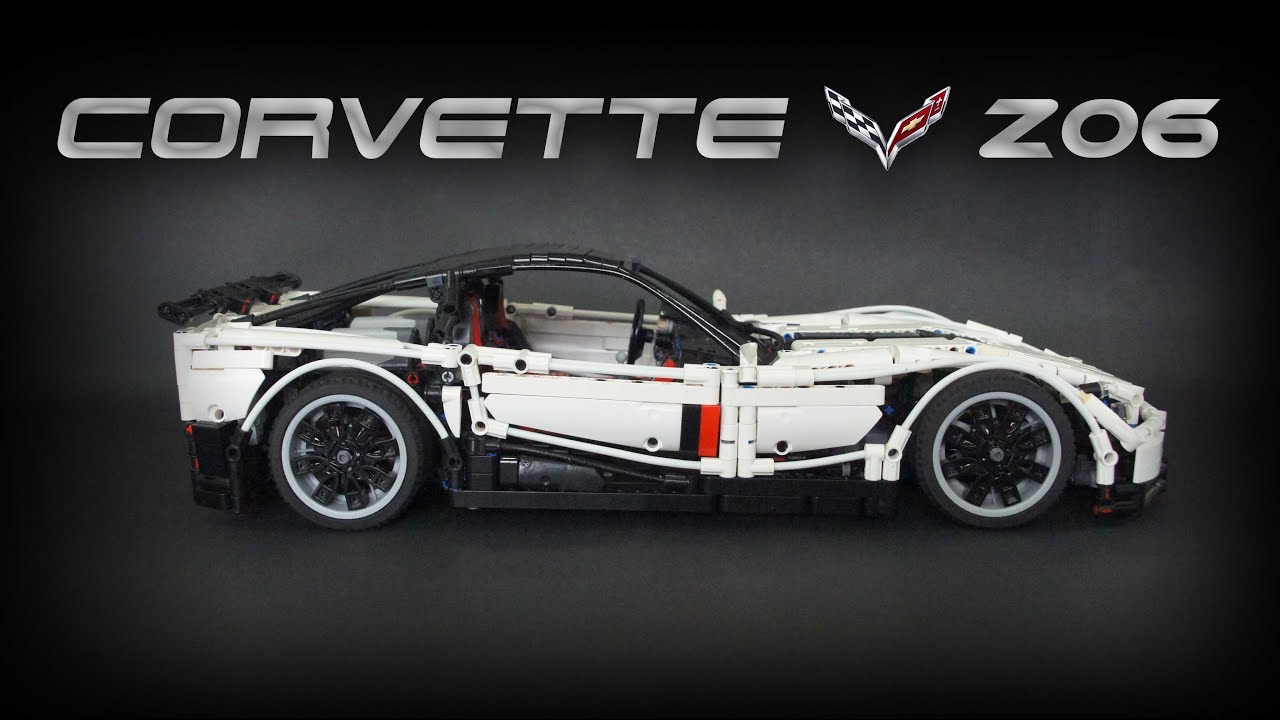 lego technic rc chevrolet corvette z06 youtube. Black Bedroom Furniture Sets. Home Design Ideas