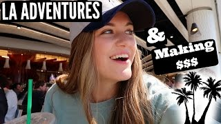 VLOG: Earning $1,600 at the airport & Hanging Out in LA!