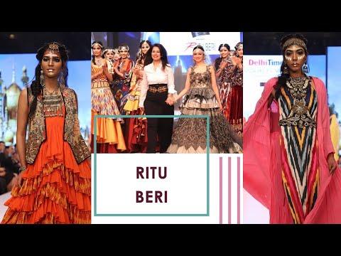 Delhi Times Fashion Week 2019 | Divya Khosla Kumar aced the ramp for Ritu Beri