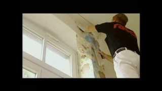 Como empapelar las paredes con papel pintado?