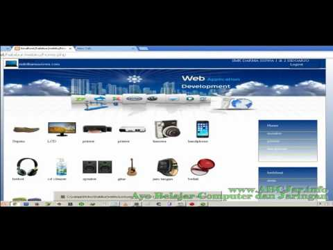 UKK 2016 - Pemrograman Web Toko Online Konsep Toko Online HTML - Habiburrahman