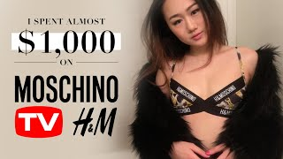I spent almost $1000 on MOSCHINO X H&M Collection!!