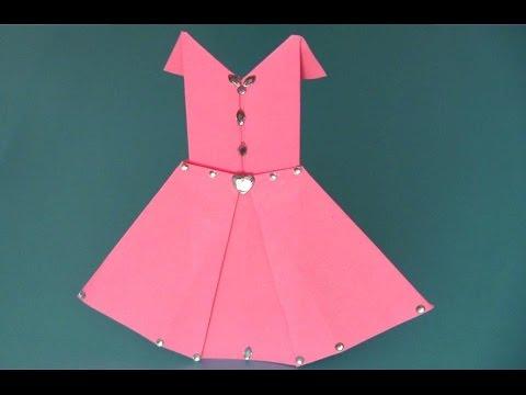 Vestido De Papel Origami