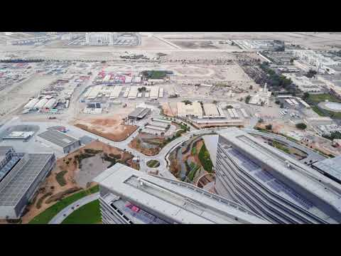 Sheikh Shakbout Medical City 4K - Abu Dhabi, UAE.
