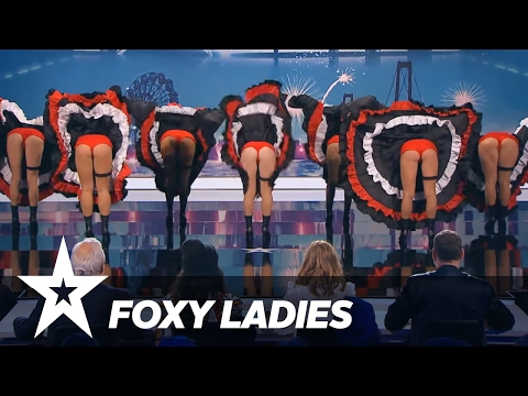 Foxy Ladies | Danmark Har Talent 2017 | Audition 5