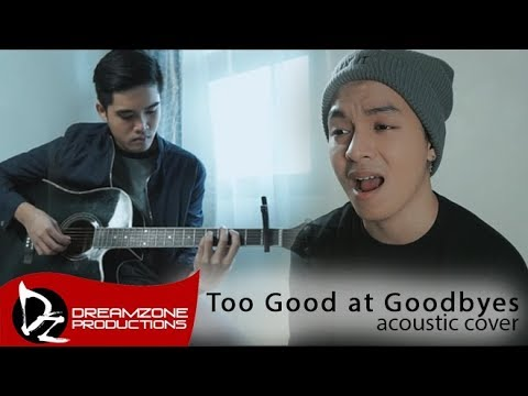 Sam Mangubat - Too Good at Goodbyes (Acoustic Cover)