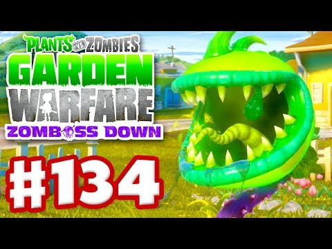Plants vs zombies garden warfare gameplay walkthrough part 134 toxic chomper xbox one for Plants vs zombies garden warfare 1