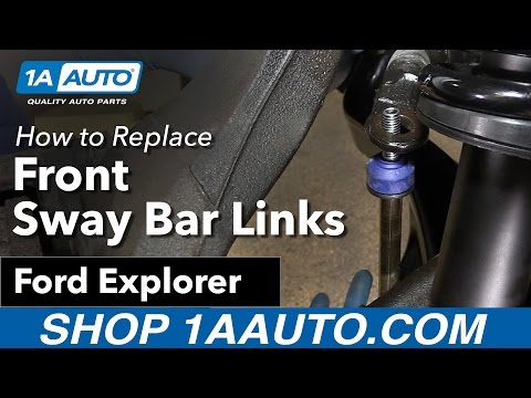 How to Replace Front Sway Bar Link 06-10 Ford Explorer