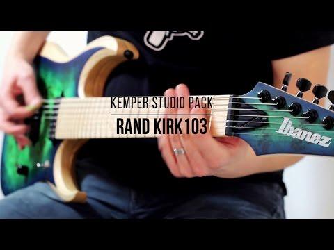 Kemper Profiles: Rand Kirk103 + Ibanez RGDIX7MPB-SBB