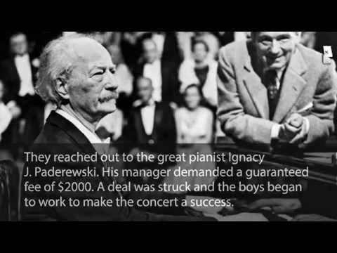 Herbert Hoover and Paderewski True Story