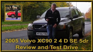 Review and Virtual Video Test Drive In Our Of Our 2005 Volvo XC90 2 4 D SE 5dr MT55YXU