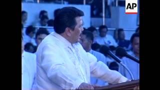 PHILIPPINES: PRESIDENT ESTRADA MAKES PLEDGE TO COUNTRY