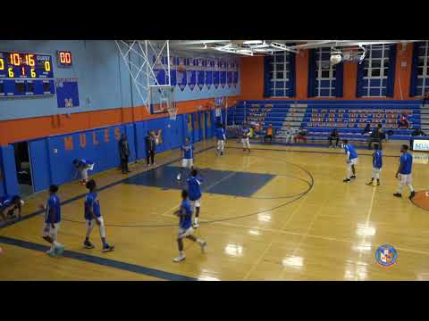 Malverne Boys Varsity Basketball vs Hempstead