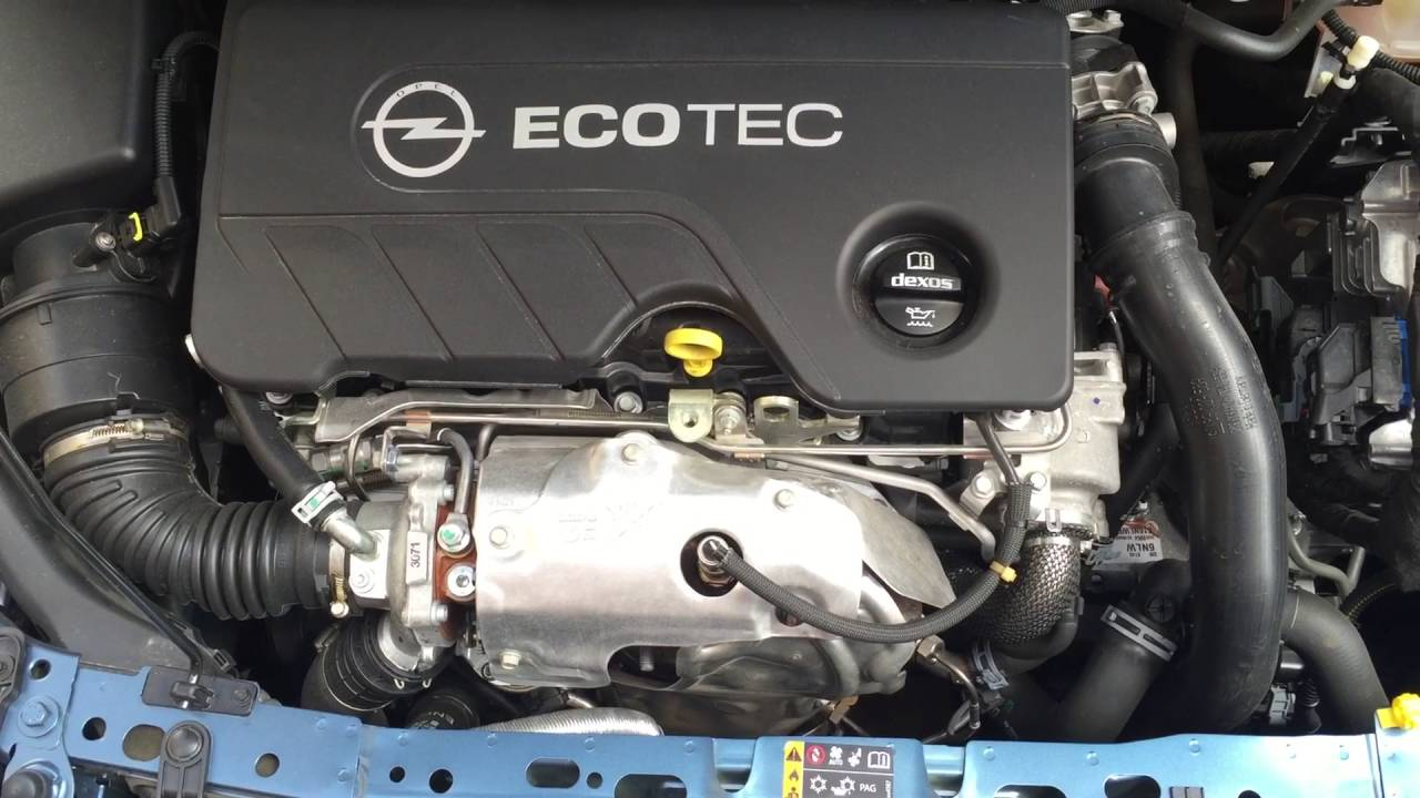 Opel Astra K 2016 1.6 cdti 136hp Engine Start - YouTube
