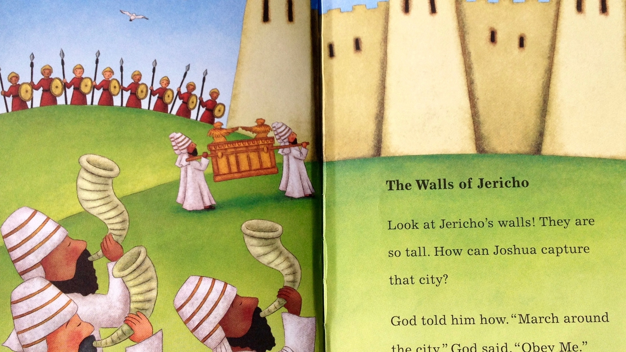 Childrens' Bible Stories - Walls of Jericho -Toddlers #31 -2 Fish Talks