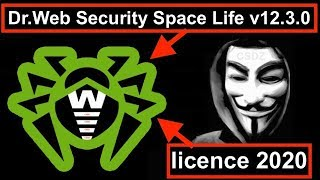 Dr.Web Security Space Life v12.3.0 + licence 2020