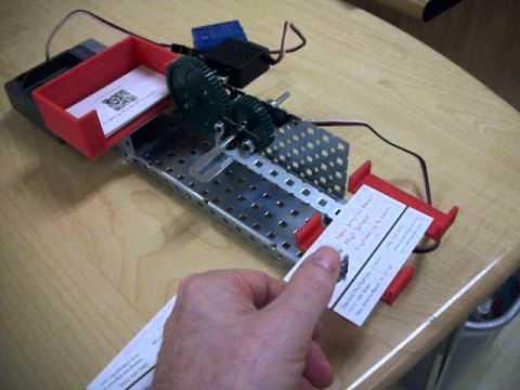 Vex business card dispenser youtube vex business card dispenser colourmoves