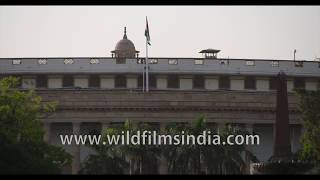 Sansad Bhavan, the house of the Parliament of India in New Delhi