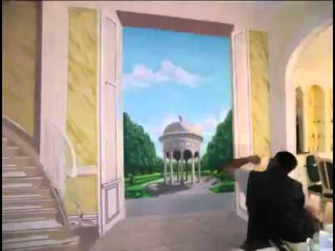 فن رسم ثلاثي الأبعاد على الجدران رهيب لا يفوتكم Youtube