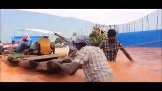 Kayal movie Tsunami making video