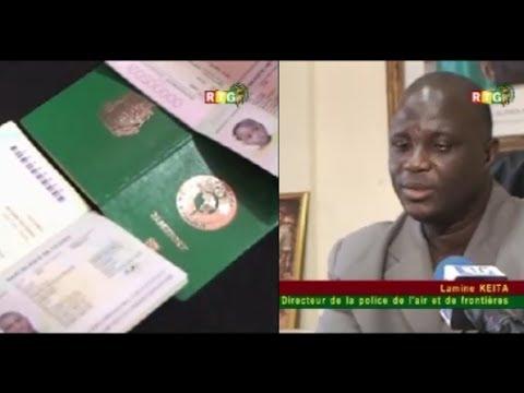 JT RTG DU 20.05.2014. Les premiers passeports biométriques délivrés