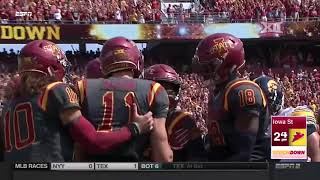 Iowa vs Iowa State Football Highlights