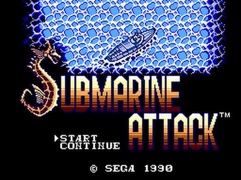 Master System Longplay [068] Submarine Attack
