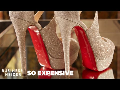 52d31ab13ed Why Louboutin Shoes Are So Expensive | So Expensive - YouTube
