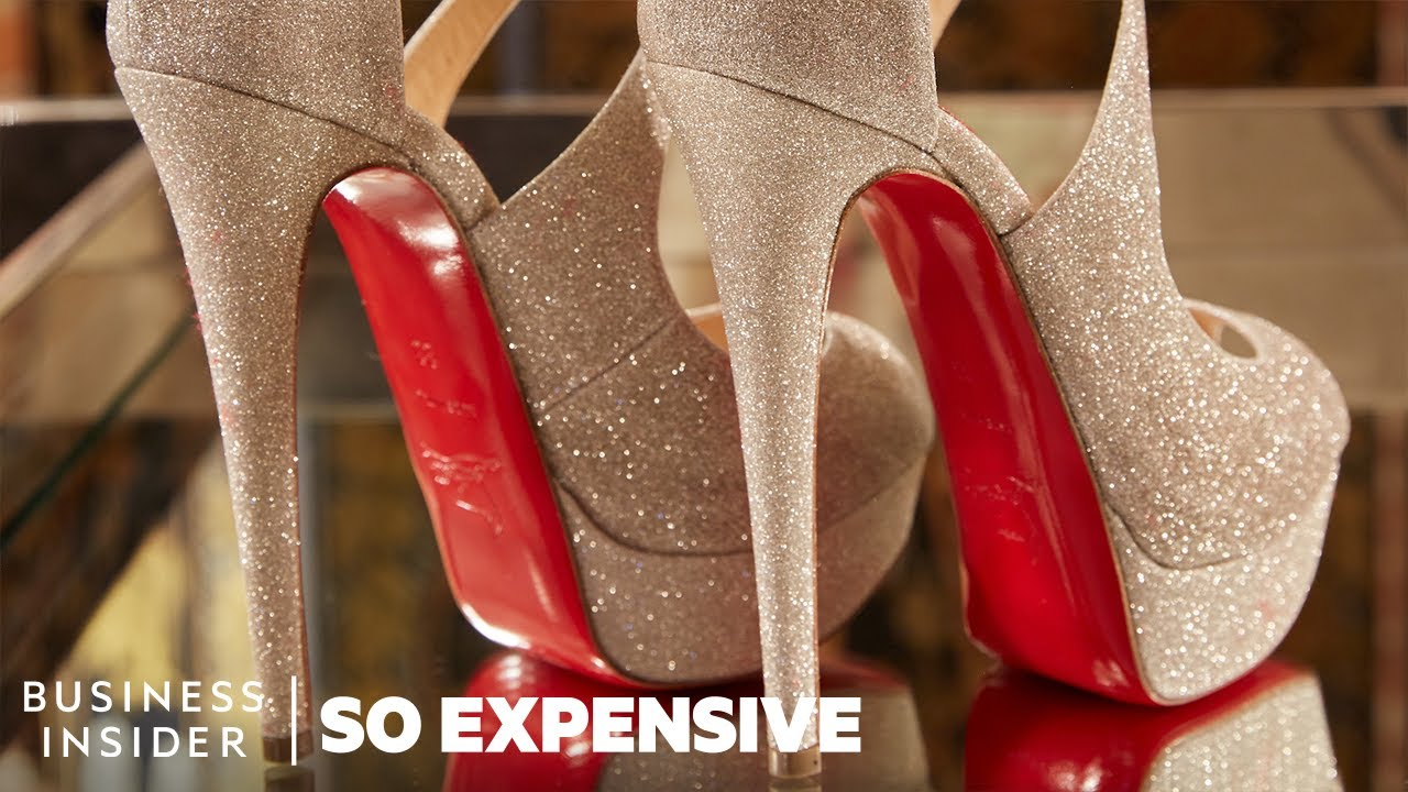 627f6dcf8 Why Louboutin Shoes Are So Expensive | So Expensive - YouTube