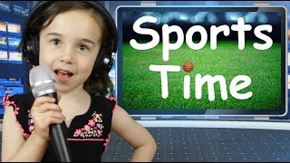 It's Time for SPORTS TIME   FREE DAD VIDEOS