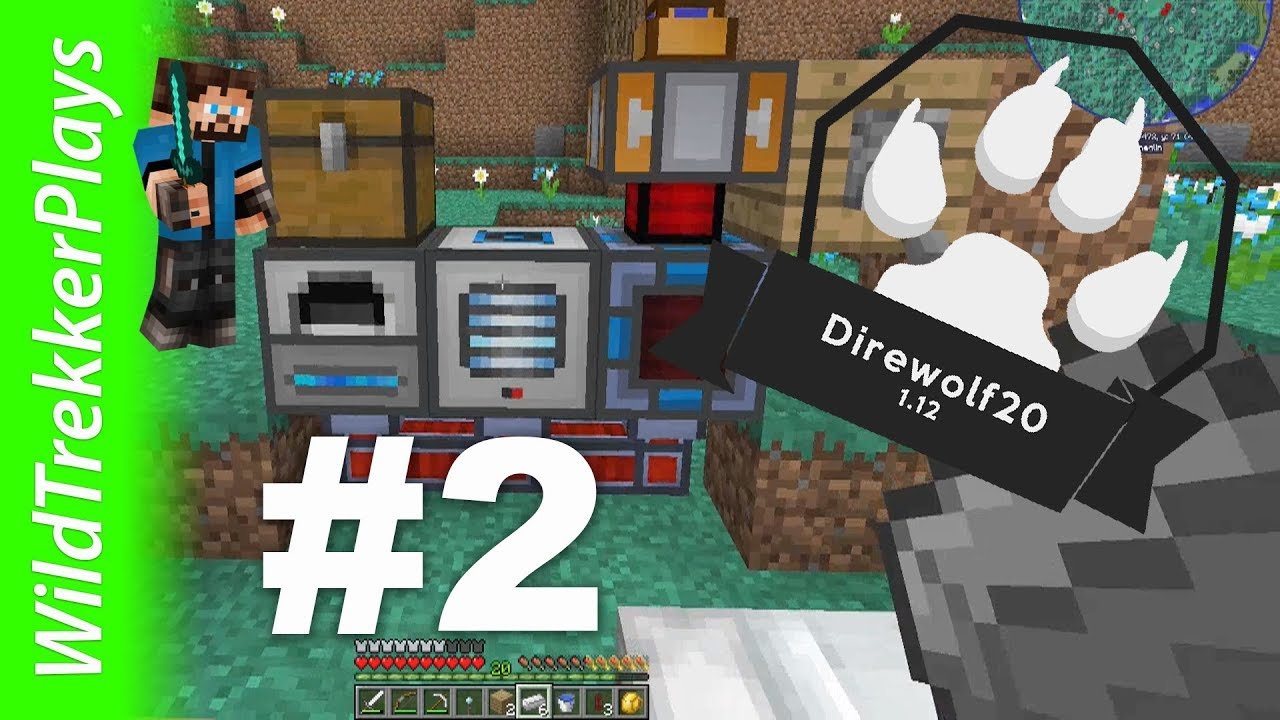 Direwolf8 8.88  Doubling Ores With Thermal Expansion  #8 (Modded  Minecraft 8.88.8)