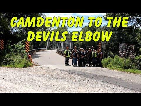 Camdenton Missouri to the Devils Elbow