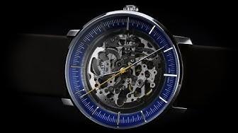 Review đồng hồ Fossil ME3162 mặt size 42mm thiết kế Skeleton độc đáo