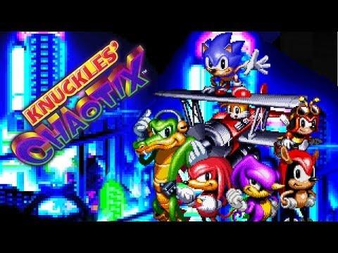 Knuckles' Chaotix - Walkthrough