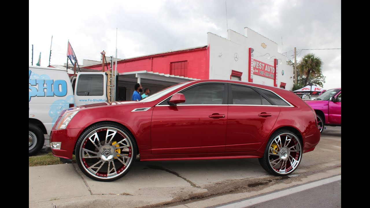 view image wagon l exterior side cts premium cadillac rwd
