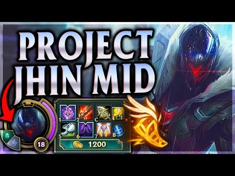 BEAUTIFUL CURTAIN CALLS ARE JHINUINELY INSPIRING! Project Jhin Mid - League of Legends Commentary thumbnail