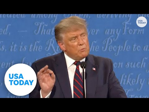 Trump and Biden argue on COVID-19 at first presidential debate | USA TODAY