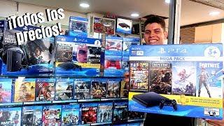 ¿Cuanto CUESTAN LAS CONSOLAS de VIDEOJUEGOS en Colombia 🎮 PLAYSTATION 4 XBOX ONE Y NINTENDO SWITCH