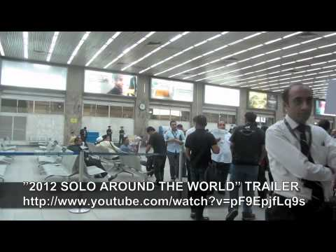 PAUL HODGE: CAIRO AIRPORT, SOLO AROUND WORLD IN 47 DAYS, Ch 100, Amazing World in Minutes